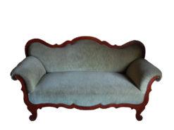 Cherry Wood Biedermeier Sofa