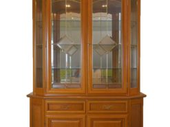 Solid Wood Buffet Display Cabinet