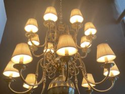 Antique Chandelier With Severals Arms
