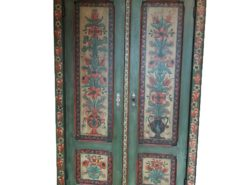 Antique Painted Country Style Closet