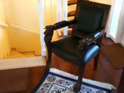 Antique Armchair With Lionshaped Ornaments
