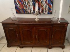 Antique Sideboard Made Of Mahogany Wood