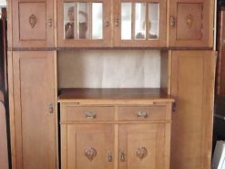 Antique Jugendstil Cabinet From The Early 20th Century