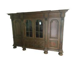 Massive Oak Wood Cabinet