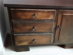 Antique Commode Made Of Solid Wood
