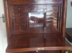 Secretary From The Biedermeier Era Made Of Mahogany Wood