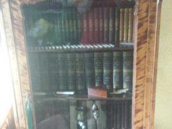 Birch Wood Louis Philippe Vitrine From Around 1850