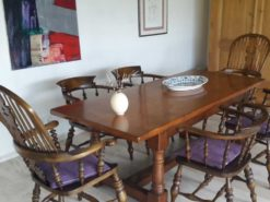 Captaincheers Table With 6 Chairs