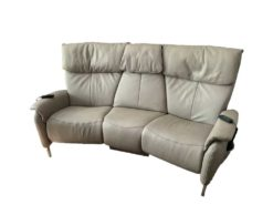 High Quality Electric Himolla Leather Couch