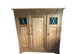 Antique Closet Made Of Softwood