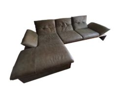Green Corner Couch With Sleeper