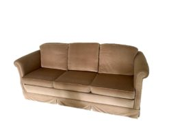 Brown Uplostery Sofa
