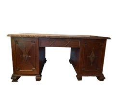Antique Desk Made Of Solid Wood
