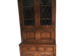 Display Cabinet Made Of Soild Walnut Tree