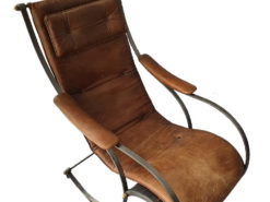 Brown Designer Relax Leather Chair