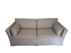 2-Seater-Sofa, Made By Bielefelder Werkstätten, With Sleeper