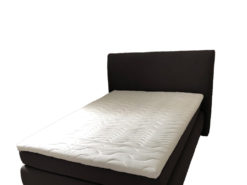 Grey Box-Spring-Bed, Dieter Knoll Collection