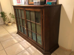 Antique Display Cabinet/Commode Made Of Solid Wood