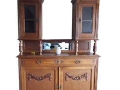 Cabinet, Made Of Solid Wood, From the Jugendstil-Era