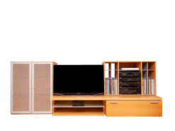 Designer Wall Unit System - TV And Stereo Unit - By Brinkmann