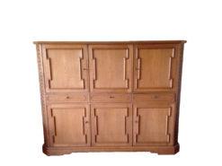 Handmade Unique Cabinet, Made Of Oak Wood