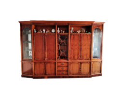 Antique Display Cabinet - Front View