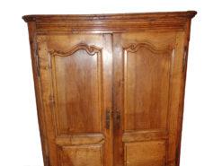 Antique Closet Made Of Walnut Wood