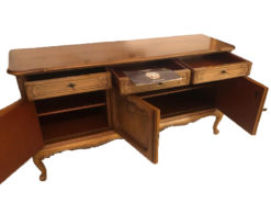 Antique Warrings Chippendale Sideboard