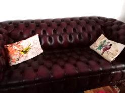 Upholstered Chesterfield Sofa