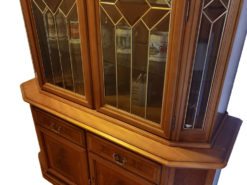 Antique Display Cabinet With Lighting