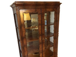 Antique Display Cabinet Made of Mahogany