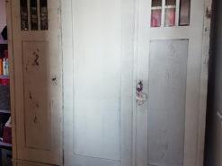 Antique White Painted Bredroom Closet