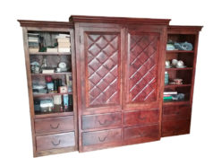 Antique Cabinet, Made Of Solid Wood