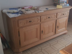 Country-Style Commode Made Of Solid Wood