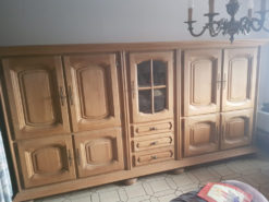 Country-Style Cabinet Made Of Solid Wood