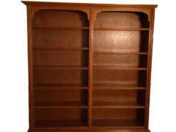 Vintage Bookcase, Made Of Solid Oakwood, Perfect Condition