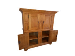 Oakwood Cabinet, Country Style