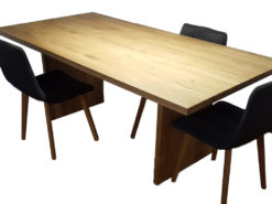 Large Dining Room Table Made Of Solid Wood