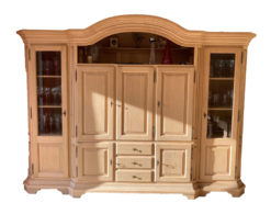 Country Style Cabinet Made Of Solid Wood