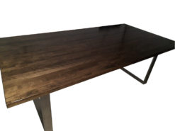 Large Designer Dining Room Table, Made Of Solid Wood
