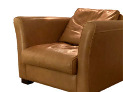 High Quality Luxus Leather Armchair - Baxter Diner