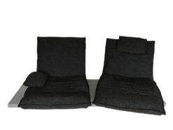 Dark Grey Designer Sofa, KOINOR Edit Free Motion