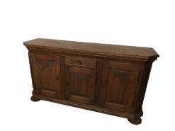 Commode, Made Of Solid Oakwood, Country Style