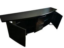 Black Designer Sideboard Tonda 403, Made By WK