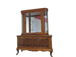 Handmade Antique Display Cabinet, Made Of Solid Wood