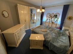 Complete Bedroom Furniture Set, White And Elegant