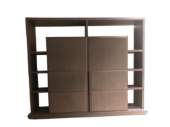 Oakwood High Cabinet, Leopold Baxter, By Roberto Lazzeroni