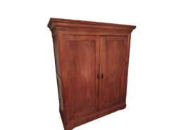 Antique Bedroom Closet, Made Of Solid Wood, 1920s