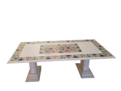 Exclusive Coffeetable, Made Of Marble, Semiprecious Stones