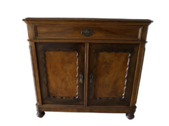 Handmade Commode, Made Of Solid Wood, Drawer, Lockable Doors